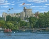 Windsor Castle from the River Thames by Richard Harpum